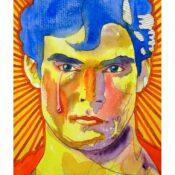 Superman græder