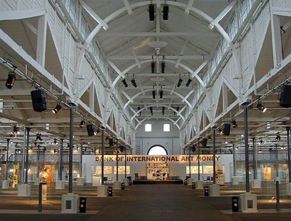 Artmoney in Oeksnehallen, Copenhagen, 2003