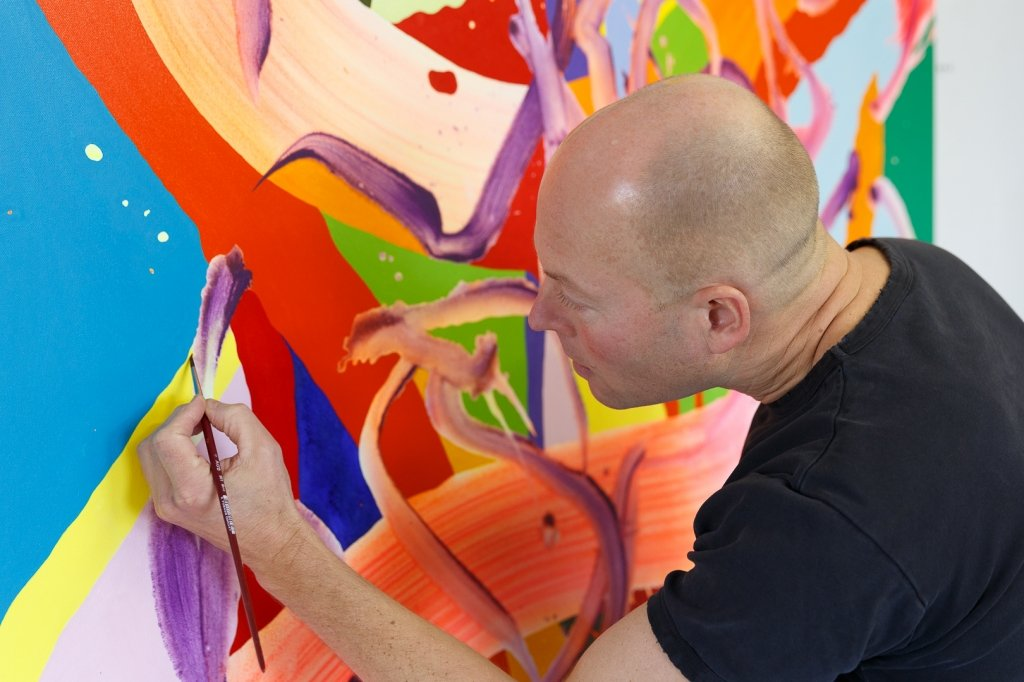 Lars Christian Kraemmer painting